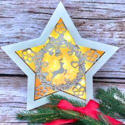 Świecąca gwiazda (mała)