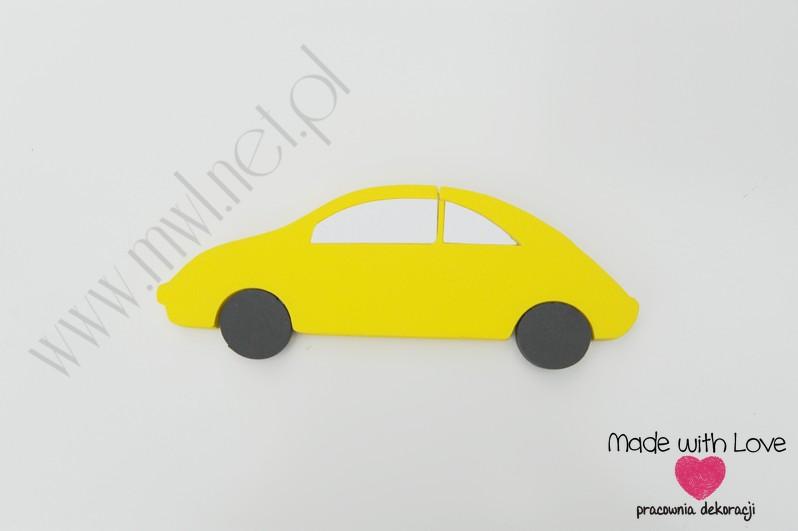 Samochodzik - dekoracja 3d
