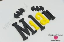Literki  30 cm - wzór MWL177