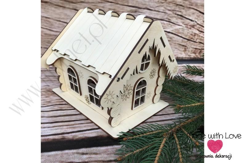 Zimowy domek na rozkoszne pyszności