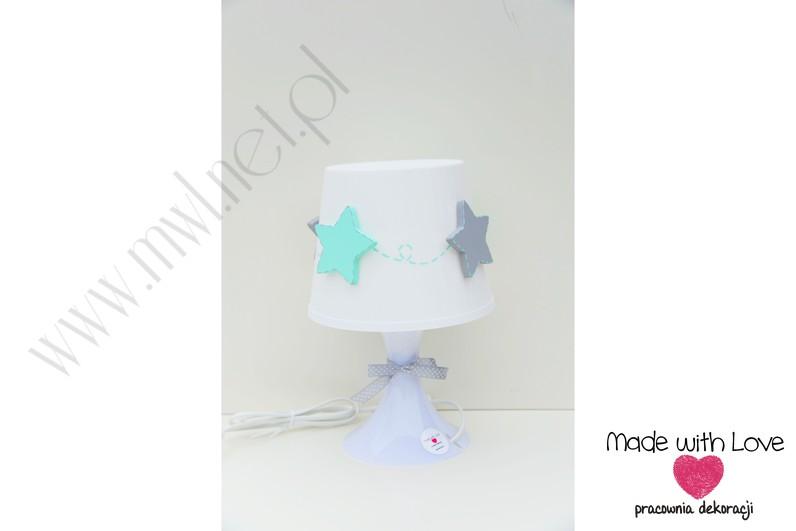 Lampka nocna z gwiazdkami - L12