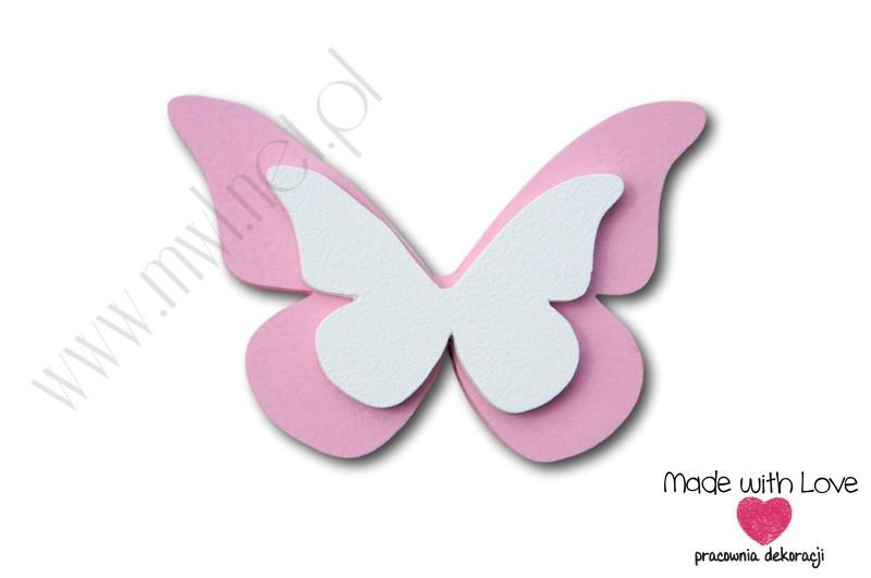 Motylek - wzór D8