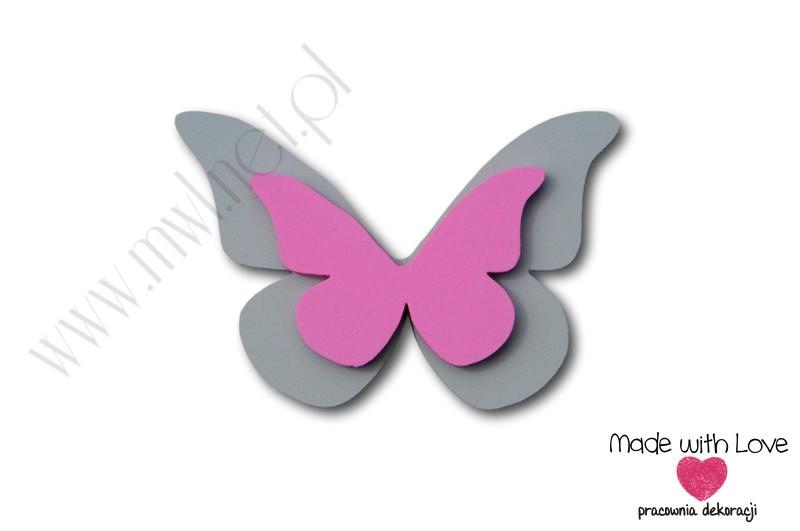 Motylek - wzór D12