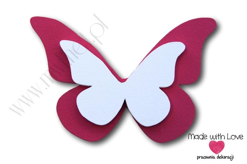 Motylek - wzór D16
