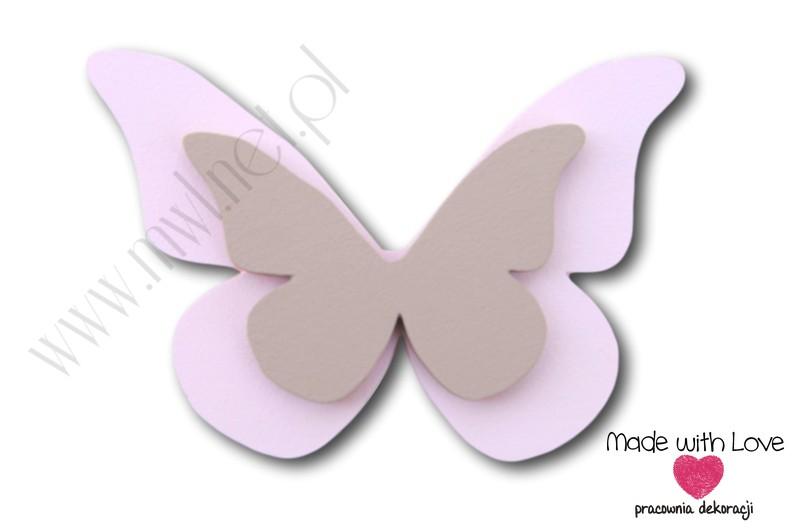 Motylek - wzór D18
