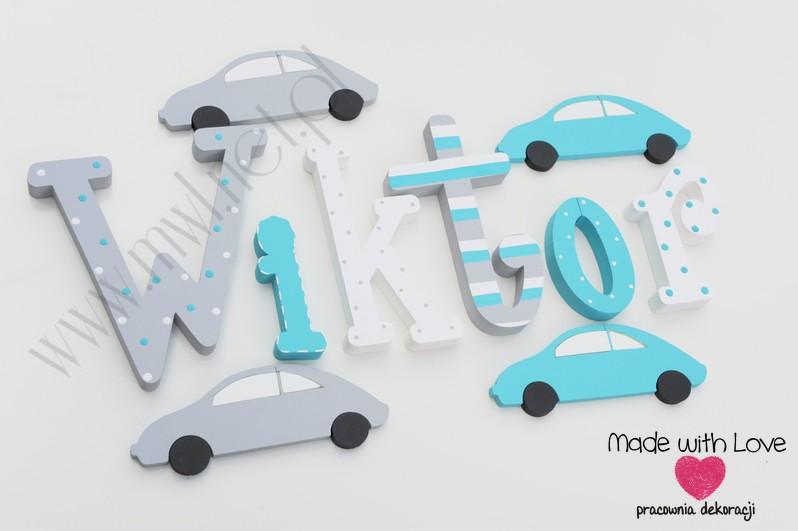 Literki - wzór MWL27