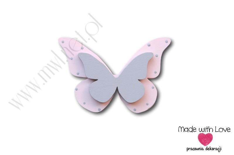 Motylek - wzór D5 motylek motyl