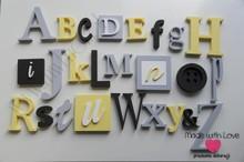 Alfabet 3D XXL - wzór 2