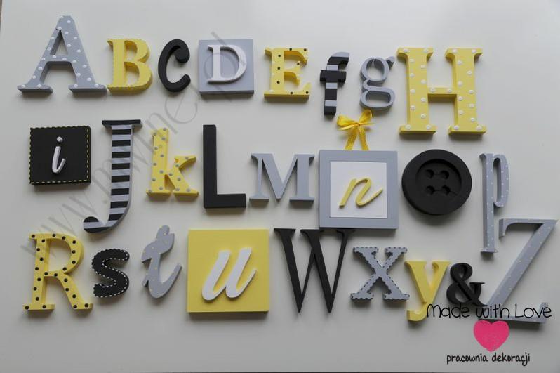 Alfabet 3D - wzór 3