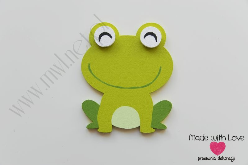 Dekoracja ścienna - żabka (D)