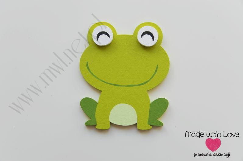 Dekoracja ścienna - żabka (M)