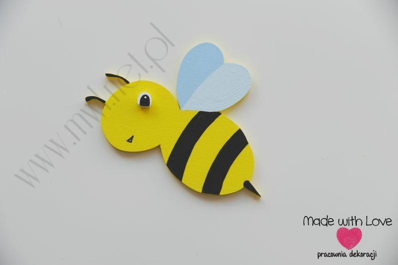 Dekoracja ścienna - pszczółka (M)