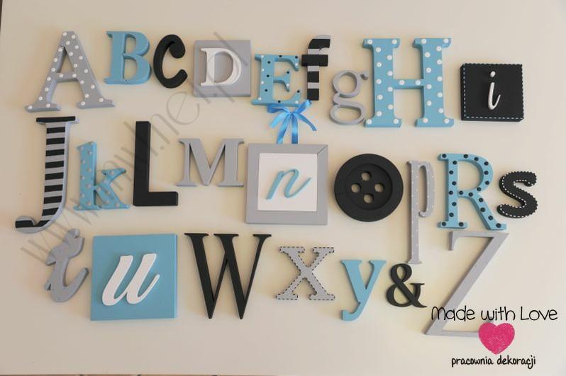 Alfabet 3D - wzór 4