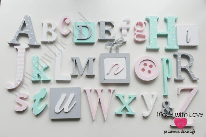 Alfabet 3D - wzór 6