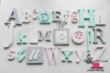 Alfabet 3D XXL - wzór 6