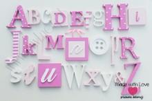 Alfabet 3d - wzór 7