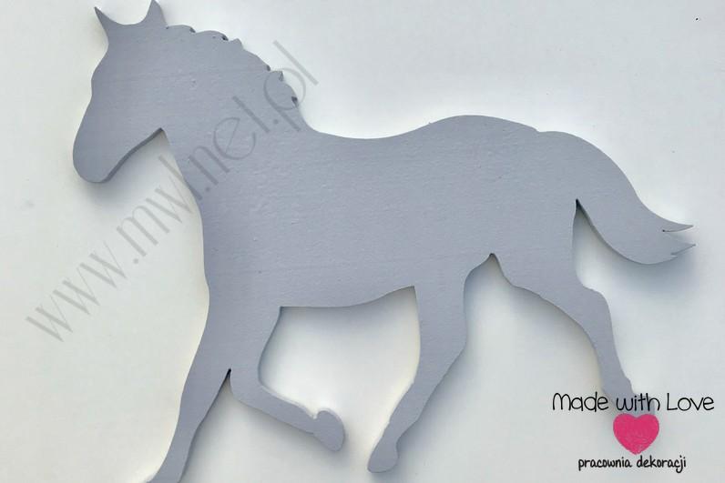 Koń - dekoracja 3d