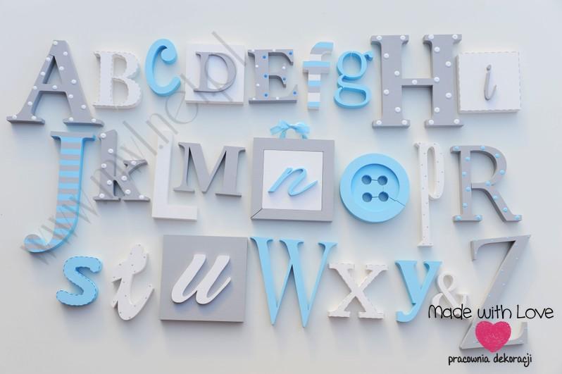 Alfabet 3d xxl - wzór 8