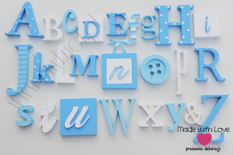 Alfabet 3d xxl - wzór 9