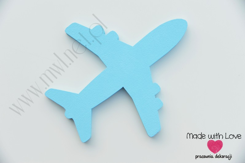 Samolot - dekoracja 3d(d)