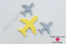 Zestaw samolotów - dekoracje 3d