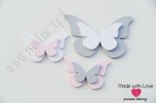 Motylki podwójne - zestaw Z1