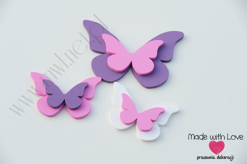 Motylki podwójne - zestaw Z2