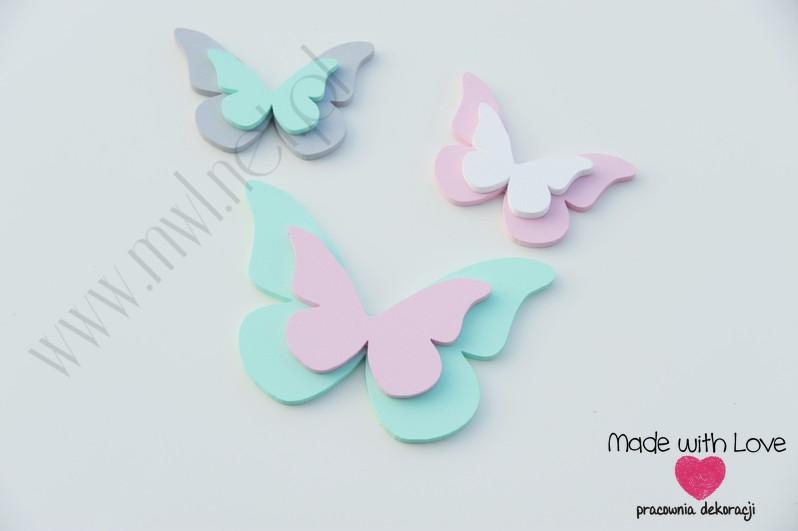 Motylki podwójne - zestaw Z3