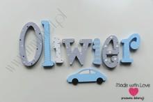 Literki 20cm - wzór MWL171